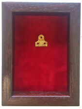 Small Red Medal Display Case For 1 Medal