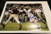 HAROLD LANDRY TENNESSEE TITANS BOSTON COLLEGE SIGNED AUTOGRAPH 8x10 PHOTO A