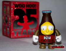 "Remorseful Duff - Simpsons Anniversary 3"" Vinyl Mini Series Kidrobot Brand New"