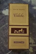 MINIATURE PARFUM CALECHE HERMES - BOITE ET FLACON - REF 55.614 FLACON PLEIN