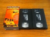 Trinity & Beyond The Atomic Bomb Movie~2 Video Version (Vhs)~No 3-D Glasses