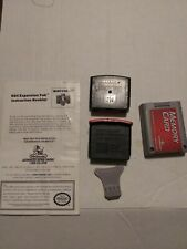 Nintendo 64 accessories Expansion Pak-Jumper Pak-Memory Card and removal tool