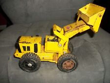 """Vintage Tonka  Front Loader Construction Toy 1970-1973 USA made 10"""" inches long"""