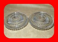 PAIR of Dansk Lead Crystal Glass Candle/Votive Holder - NEW