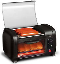 Hot Dog Roller Toaster Oven Sausage Maker Kitchen Cooker Machine Bun Warmer Cook