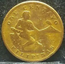 1936 M Usa phil. One Centavo Bronze Coin