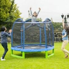 NEW 7'ft  Trampoline w/ Safety Net Indoor Outdoor Bouncer Jump Kids Boys Girls