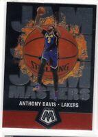2019-2020 Panini Mosaic Basketball Jam Masters Insert Anthony Davis #17 Lakers