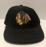 NHL Chicago Blackhawks Adult Promotional Snapback Cap Hat - Insure One