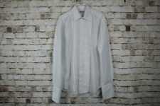 Balmain Paris White Shirt size 15.5/39-40