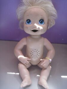 2006 Hasbro Baby Alive Doll Soft Face  Blonde Hair  Does NOT Work