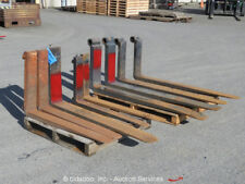 "Lot of (9) 5""x60"" 6""x60"" 4""x40"" 5""x42"" 6""x53"" Forks Lift Forklift Attachments"
