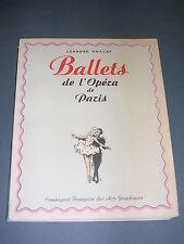 Danse Ballets Léandre Vaillat Ballets de l'opéra de Paris 1943 E.O numérotée