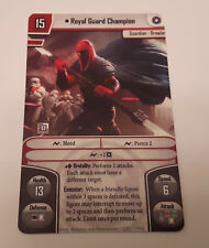 Star Wars Imperial Assault Alt Art promo card -  Royal Guard Champion
