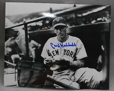 Carl Hubbell  New York Giants Signed 8x10 Photo  MLB Photo