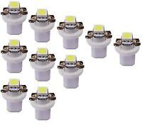 10x Weisse Tacho UMBAU SET 5050 SMD Led Tachobeleuchtung Bax10d B8.5d weiß Lampe