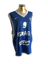 T-shirt+shorts basketball Israel National Team number 9