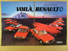 1982 Renault 5 Turbo Alpine 310 Fuego 9 18 20 5 14 18 4 Rodeo vintage print Ad