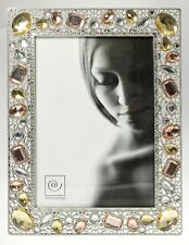 MASCAGNI Cornice Portafoto da Tavolo in Peltro GEM COLLECTION x foto 13x18 cm
