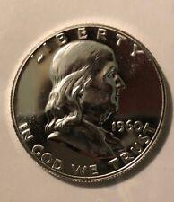 1960 Proof Franklin Half Dollar Silver 50C GEM Beauty