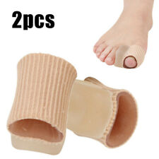 2pcs Soft Big Toe Separators Straightener Bunion Gel Pads Corrector Pain Relief