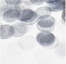20mm Cup Sequins Crystal Clear Transparent See-Thru. Made in USA
