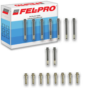 Fel-Pro ES 72856 Engine Cylinder Head Bolt Set for 27276 7780 940 GS33285 uc
