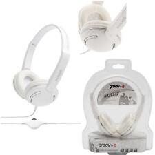 Groov-e Streetz KID'S Cuffie con Controllo Volume Regolabile Bianco GV-897-WE