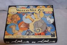 Vintage Fisher Price Woodsy-Wee Zoo Limited Edition 10th Anniversary 1996 NEW