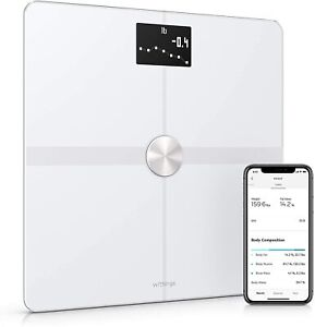 Withings Body+ - Smart Body Composition Wi-Fi Digital Scale White