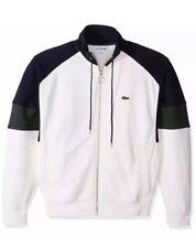 Lacoste Men's Long Sleeve Fleece Full Zip Pockets Sweatshirt  Size Small - Fr 3