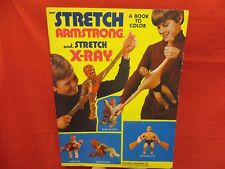 KENNER VINTAGE 1976  STRETCH ARMSTRONG  STRETCH X-RAY COLORING BOOK UNUSED