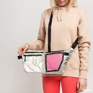 Womens Nike Tech CrossBody Bag Pink Pouch Fanny Pack Nike Bag Hip Pack Waist