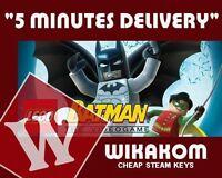 LEGO BATMAN PC STEAM CD-KEY [REGION FREE] Fast Delivery