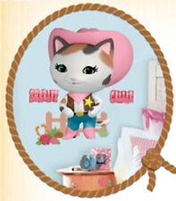 SHERIFF CALLIE WILD WEST wall stickers MURAL 9 Disney decal cat kitten decor