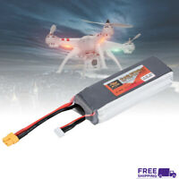 ZOP Power 14.8V 4500mAh 45C 4S Rechargeable Lipo Battery XT60 for RC Drone Car W