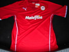 Cardiff City Home Short Sleeve Football Shirt 2013/2014  NEW WITH TAGS