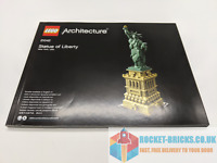 ⭐️LEGO 21042 ARCHITECTURE STATUE OF LIBERTY - INSTRUCTIONS ONLY - NEW⭐️