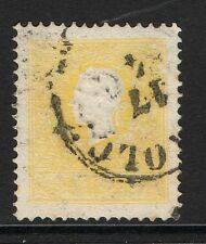 More details for austria sg22a 1859 2k yellow type ii used
