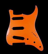 (A86) Custom Guitar Pickguard Fits Strat Standard style ,4ply ORANGE