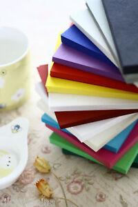 Colour Postcards 20pc blank cardstock DIY save the date place card sizzix cricut