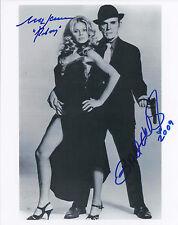 BRITT EKLAND & MARK LAWRENCE SIGNED JAMES BOND 007 8x10 PHOTO - UACC & AFTAL RD