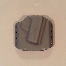 S&W M&P Shield 9/40 Owb Kydex Holster Right Hand With Cant Black