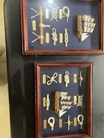 Framed Nautical Knot Display