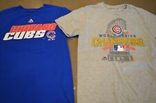 CHICAGO CUBS BOYS YOUTH TSHIRTS BLUE GRAY SIZE MEDIUM 10-12