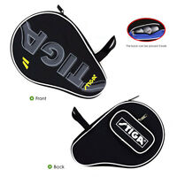 STIGA Table Tennis Racket Case Single Bat Paddle Blades & Balls Carry Bag BLACK