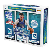 2020-21 PANINI CONTENDERS BASKETBALL FOTL HOBBY BOX FACTORY SEALED