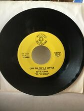 Boyd McCoy - Got To Give A Little / 1000 People. Funky Records Rochester NY Mint
