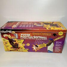 Rawlings Radio Control Power Pitch 'N' Hit Pitching Pony Tail Softball Machine