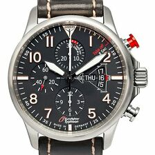 JUNKERS 6826-5 EUROFIGHTER 3 TYPHOON AUTOMATIC PILOT CHRONO 7750 42 MM LIMITIERT